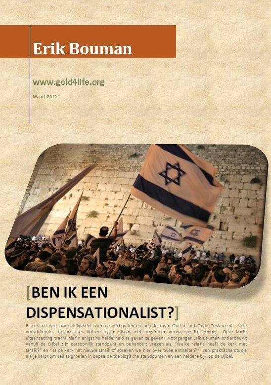 Ben ik een dispensationalist?